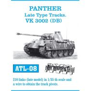 Траки металл Panther Ausf. A, G, Jagdpanther масштаб 1:35 FRIULMODEL ATL-35-08, фото 1