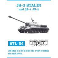 Траки металл ИС-3, послевоенный ИС-1, ИС-2 масштаб 1:35 FRIULMODEL ATL-35-34, фото 1
