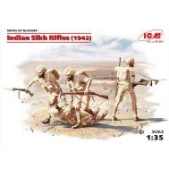 Индийские сикхские стрелки 1942г масштаб 1:35 ICM35564, фото 1