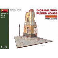 Диорама. Разрушенный дом масштаб 1:35 MiniArt MiA36012, фото 1