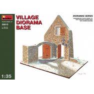 Диорама. Разрушенный дом в деревне масштаб 1:35 MiniArt MiA36015, фото 1