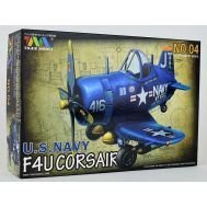 Сборная модель U.S. Navy Fighter F4U-4 Corsair Tiger Model TIG104, фото 1