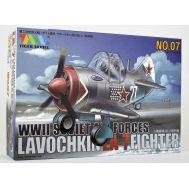 Сборная модель Lavochkin La-7 Fighter Tiger Model TIG107, фото 1