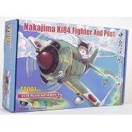 Сборная модель Nakajima Ki84 Fighter And Pilot Tiger Model TIGTT001, фото 1