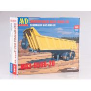 Полуприцеп МАЗ-9506-20 (KIT) металл масштаб 1:43 7037AVD, фото 1