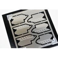 Набор мини пилок II (3-прямые и 3-закругленные) Tamiya 74097, фото 1