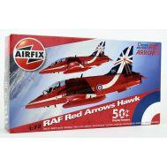 Red Arrows Hawk масштаб 1:72 Airfix A02005B, фото 1