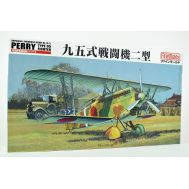 Ki 10-II (Perry) с техниками и оборудованием масштаб 1:48 Fine Molds FB13, фото 1