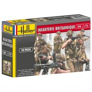 Британская пехота II МВ масштаб 1:72 Heller HL49604, фото 1