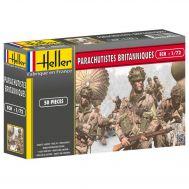 Британские парашютисты II МВ масштаб 1:72 Heller HL49623, фото 1