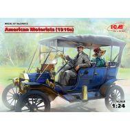 Американские автолюбители 1910г масштаб 1:24 ICM24013, фото 1