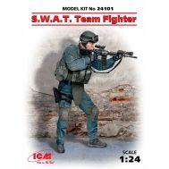 Боец группы S.W.A.T. масштаб 1:24 ICM24101, фото 1