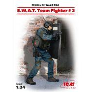 Боец группы S.W.A.T. №2 масштаб 1:24 ICM24102, фото 1