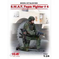 Боец группы S.W.A.T. №4 масштаб 1:24 ICM24104, фото 1