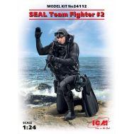 Боец группы SEAL №2 масштаб 1:24 ICM24112, фото 1