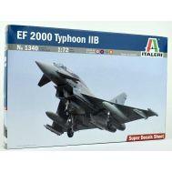 EF 2000 Typhoon IIB масштаб 1:72 Italeri IT1340, фото 1