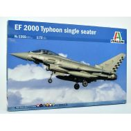 EF 2000 Typhoon single масштаб 1:72 Italeri IT1355, фото 1