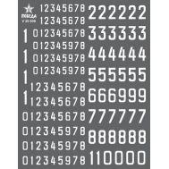 Цифры для бронетехники. Вар.1 (5,04/5,76/9,36мм) СССР, Россия, др., 1:35, V35008, фото 1