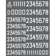 Цифры для бронетехники. Вар.1 (8,64/10,08мм) СССР, Россия, др., 1:35, V35009, фото 1