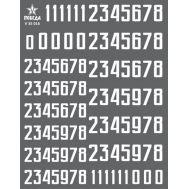 Цифры для бронетехники. Вар.1 (8,64/10,08мм) СССР, Россия, др., 1:35, V35016, фото 1