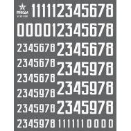 Цифры для бронетехники. Вар.1 (7,20/11,52мм) СССР, Россия, др., 1:35, V35018, фото 1