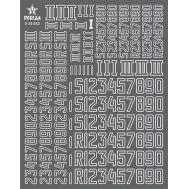 Цифры для бронетехники. Вар.3 (5,76/7,20/9,36мм) Германия, 1:35, V35032, фото 1
