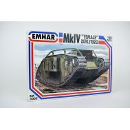 Mk.IV Female WW I Heavy Battle Tank масштаб 1:35 Emhar EM4002, фото 1