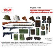 Оружие и снаряжение Германской пехоты ІІ МВ масштаб 1:35 ICM35638, фото 1