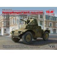 Panzerspahwagen P 204 (f) с башней масштаб 1:35 ICM35377, фото 1