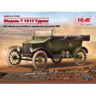 Model T 1917 Туринг, Штабной автомобиль армии Австралии 1МВ масштаб 1:35 ICM35667, фото 1