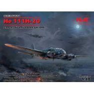 He 111H-20, Германский бомбардировщик 2МВ масштаб 1:48 ICM48264, фото 1