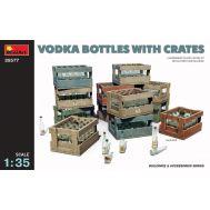 Бутылки водки с ящиками масштаб 1:35 MiniArt MiA35577, фото 1