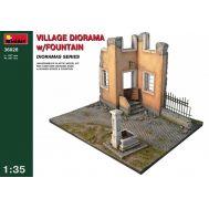 Деревенская диорама с фонтаном масштаб 1:35 MiniArt MiA36028, фото 1