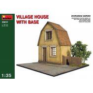 Деревенский дом с основанием масштаб 1:35 MiniArt MiA36031, фото 1