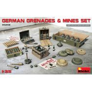 Немецкие гранаты с минами масштаб 1:35 MiniArt MiA35258, фото 1