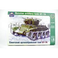Советский артиллерийский танк БТ-7А масштаб 1:35 ARK Model ARK35026, фото 1