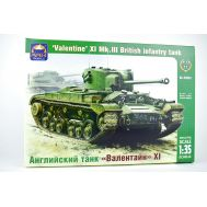 Английский пехотный танк Валентайн XI масштаб 1:35 ARK Model ARK35032, фото 1