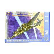 Английский ночной истребитель Бленхейм Мк.I масштаб 1:72 ARK Model ARK72035, фото 1