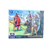 Индейцы, 8 фигур (65 мм) ARK Model ARK80021, фото 1