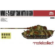 E-75 Heavy Tank with 88 gun, фототравление, металл. ствол масштаб 1:72 UA72017, фото 1