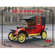 Парижское такси модель AG 1910 г. масштаб 1:24 ICM24030, фото 1