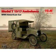 Model T 1917 санитарная, Американский автомобиль І МВ масштаб 1:35 ICM35661, фото 1