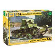 Советский легкий танк Т-26 (обр. 1932г.) масштаб 1:35 ZV3542, фото 1