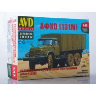 Автомобиль-фургон хлебный обогреваемый АФХО (131М) (KIT) металл масштаб 1:43 1423AVD, фото 1