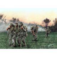 Американские солдаты, Вьетнам масштаб 1:35 MB35107, фото 1