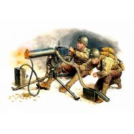 Американские пулеметчики с пулеметом масштаб 1:35 MB3519, фото 1