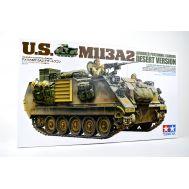 Американский бтр M113A2 с 12,7мм пулеметом и 2 фигурами масштаб 1:35 Tamiya 35265, фото 1