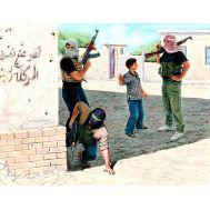 Арабское ополчение Ирак Набор 2 масштаб 1:35 MB3576, фото 1
