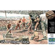 Американский артиллерийский расчет масштаб 1:35 MB3577, фото 1