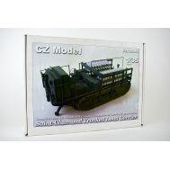 Saint-chamond tracked load carrier 1-2МВ (смола) масштаб 1:35 CZ35018, фото 1